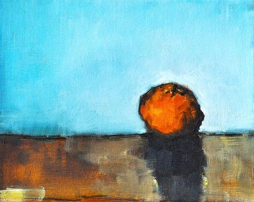 """""""Mandarin Orange Still Life"""" original fine art by Kevin Inman"""