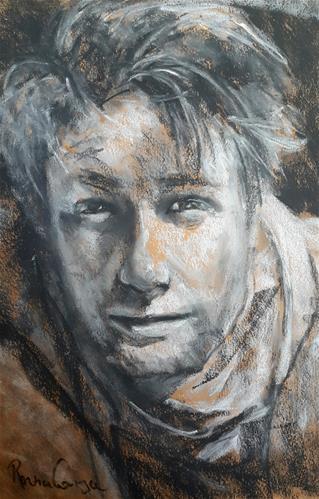 """Cullen"" original fine art by Rentia Coetzee"