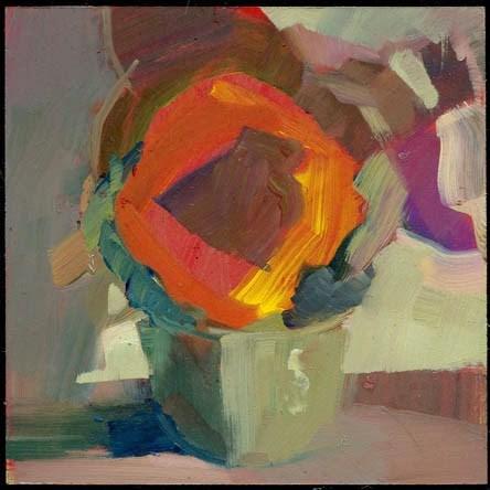 """""""1967 Talk, Talk, (talk)"""" original fine art by Lisa Daria"""
