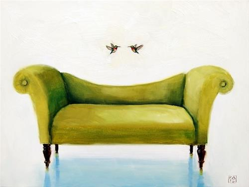 """harmony"" original fine art by Kimberly Applegate"