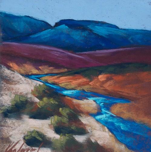 """""""Rio Chama's Journey"""" original fine art by Karen Vanderpool"""