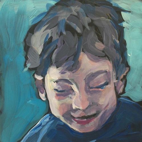 """Six and Plotting..."" original fine art by Kat Corrigan"