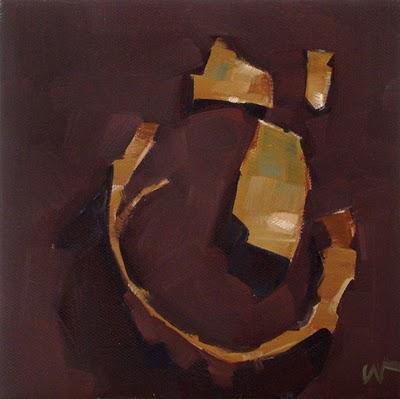 """Goofy Smile --- SOLD"" original fine art by Carol Marine"