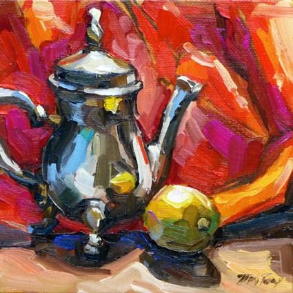 """""""teapot"""" original fine art by Jurij Frey"""