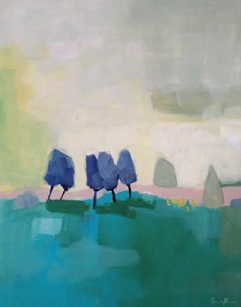 """""""Fade Away"""" original fine art by Pamela Munger"""