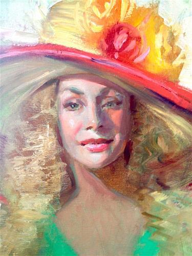 """""""Derby Day"""" original fine art by Johanna Spinks"""