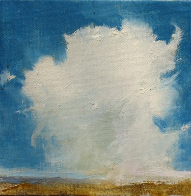 """CLOUD II"" original fine art by Susan Hammer"