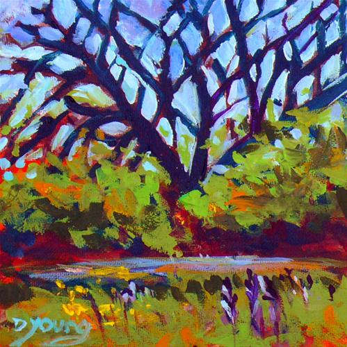 """""""Holland Point Tree"""" original fine art by Darlene Young"""