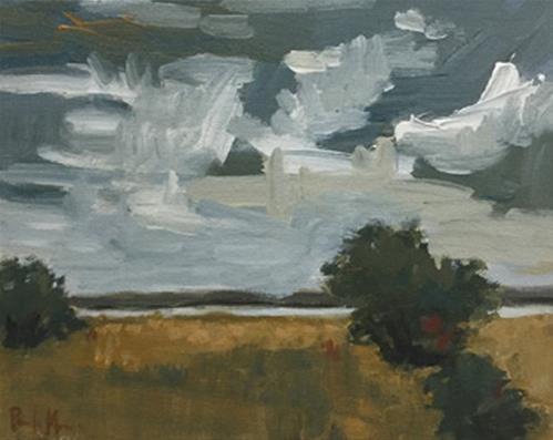 """Gathering"" original fine art by Pamela Munger"