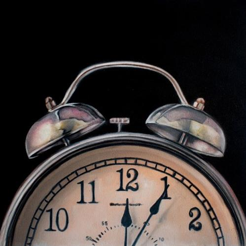 """""""5 Past Midnight"""" original fine art by Lauren Pretorius"""