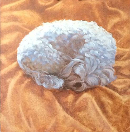 """Nap Time"" original fine art by Susan Matteson"