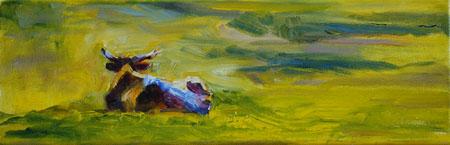 """Greenspace"" original fine art by Carol DeMumbrum"