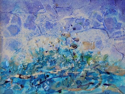 """""""Genesis, Abstract Contemporary Paintings by Arizona Artist Amy Whitehouse"""" original fine art by Amy Whitehouse"""
