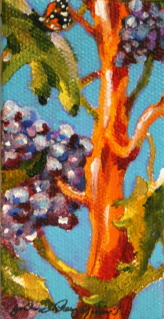 """Bar Fly"" original fine art by JoAnne Perez Robinson"