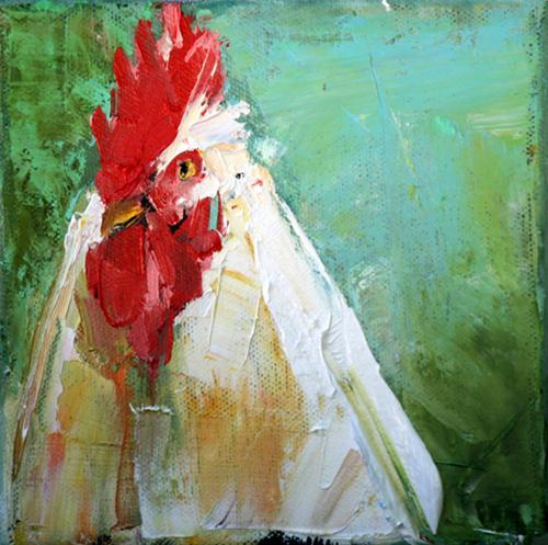 """wipe out"" original fine art by Carol Carmichael"