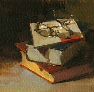 """""""Old Knowledge --- Sold"""" original fine art by Qiang Huang"""