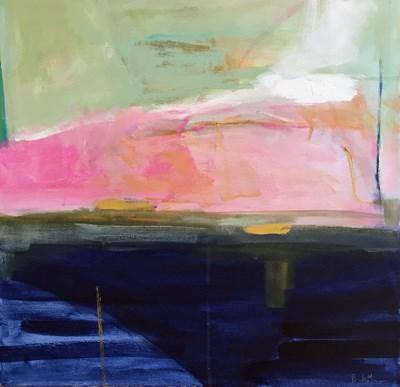 """Coastline"" original fine art by Pamela Munger"