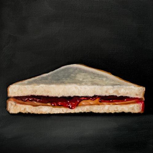 """PB&J"" original fine art by Lauren Pretorius"