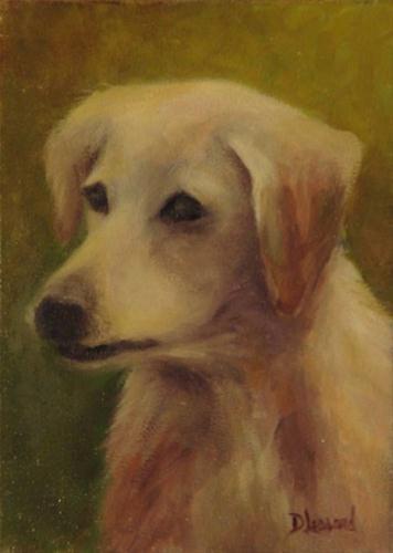 """Old Yeller #1206"" original fine art by Dee Lessard"
