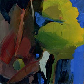 """1102 Self Contained"" original fine art by Lisa Daria"