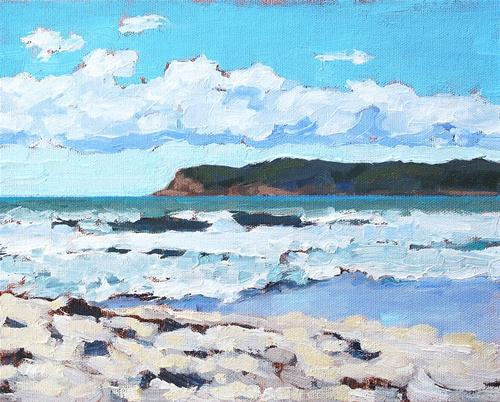 """Coronado Beach"" original fine art by Kevin Inman"