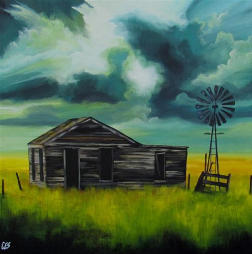 """""""Weathering Another Storm"""" original fine art by ~ces~ Christine E. S. Code"""