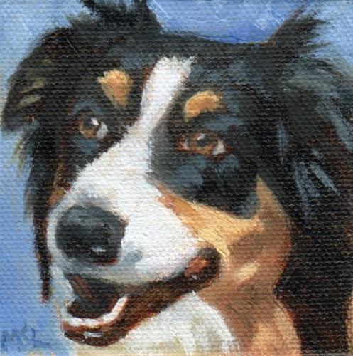 """Charley"" original fine art by Marlene Lee"