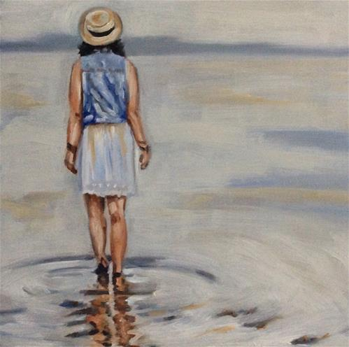 """""""...and never touch the ground...."""" original fine art by Sonja Neumann"""