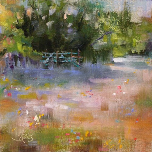"""""""Quiet Pasture"""" original fine art by Pamela Blaies"""