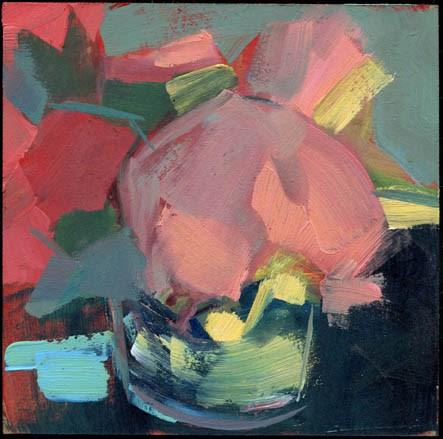 """2405 Merry & Bright"" original fine art by Lisa Daria"