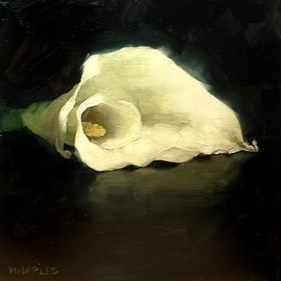 """Calalily"" original fine art by Michael Naples"