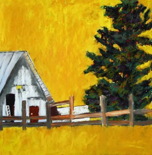 """""""Golden Glow"""" original fine art by Donna Crosby"""