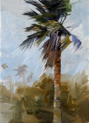 """""""South Wind --- Sold"""" original fine art by Qiang Huang"""