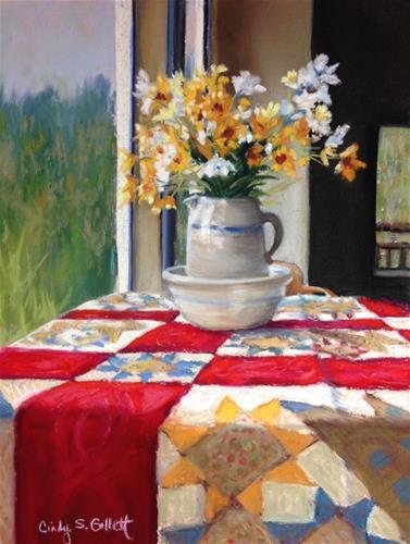 """""""A Glorious Morning"""" original fine art by Cindy Gillett"""