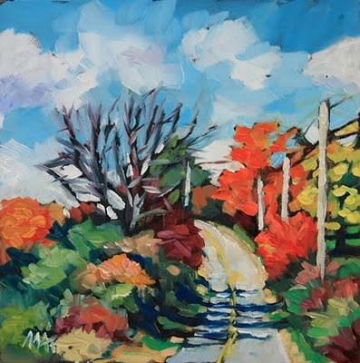 """Splendor"" original fine art by Mary Anne Cary"