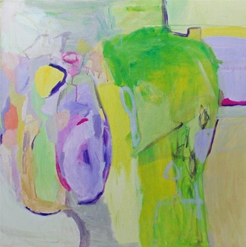 """""""Neighborhood"""" original fine art by Pamela Munger"""