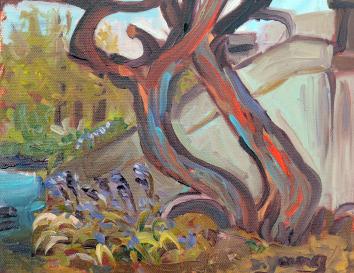 """Blue Bells"" original fine art by Darlene Young"