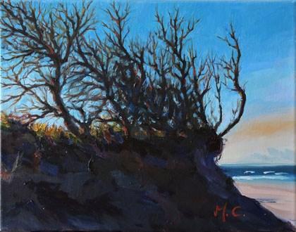 """""""Light of Jungle"""" original fine art by Michelle chen"""
