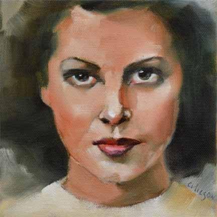 """Dark Glow"" original fine art by Cheryl Wilson"