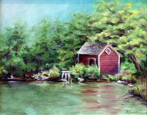 """""""Quiet Afternoon"""" original fine art by Maria Levandowski"""