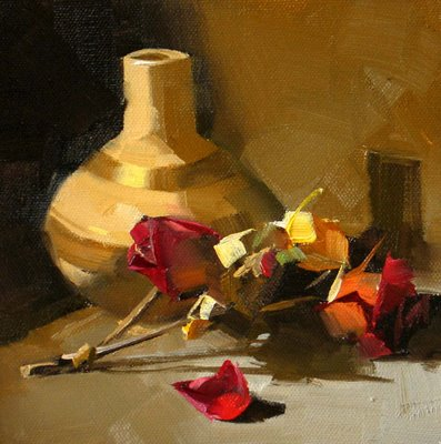 """""""Beauty Forever"""" original fine art by Qiang Huang"""