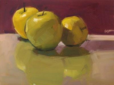 """Light Reflections --- SOLD"" original fine art by Carol Marine"