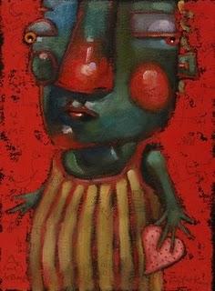 """OUT OF THE VAULT: Sweet 4 U"" original fine art by Brenda York"