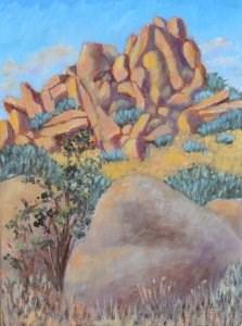 """A Field of Boulders"" original fine art by Robert Frankis"
