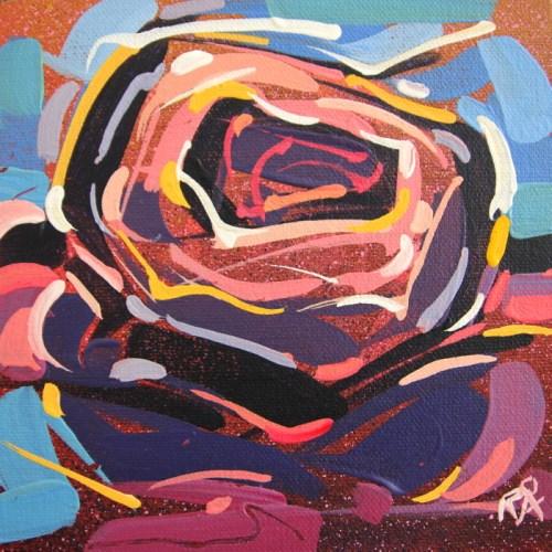 """Bird's Nest Abstraction 57"" original fine art by Roger Akesson"