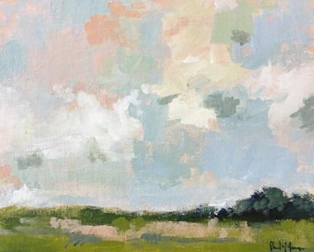"""April Sky"" original fine art by Pamela Munger"