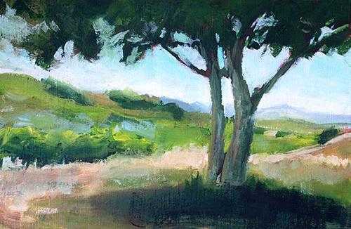 """Alta Vista"" original fine art by J. Farnsworth"