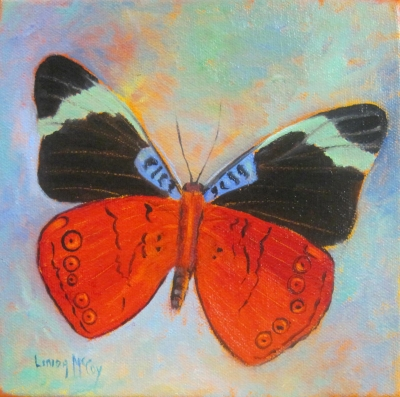 """Wind Surfer, Oil Painting by Linda McCoy"" original fine art by Linda McCoy"