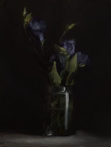 """""""Flowers in Glass"""" original fine art by Neil Carroll"""