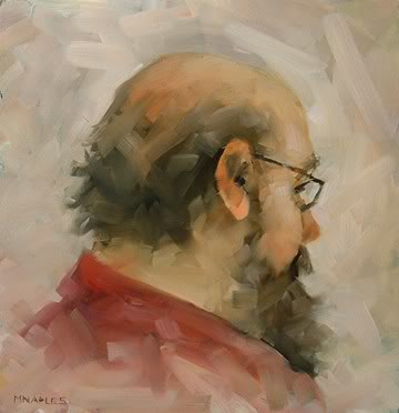 """Westbound Passenger"" original fine art by Michael Naples"